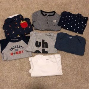 6 month boy tops